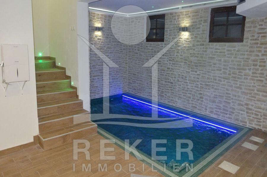 Schwimmbad Im Keller insel krk sehr hochertige steinhaus villa mit pool