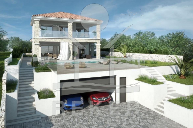 Modernes Haus Mit Pool Und Garten: Uncategorized