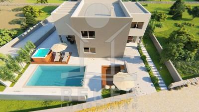 die sch ne neue luxus villa in zaton. Black Bedroom Furniture Sets. Home Design Ideas