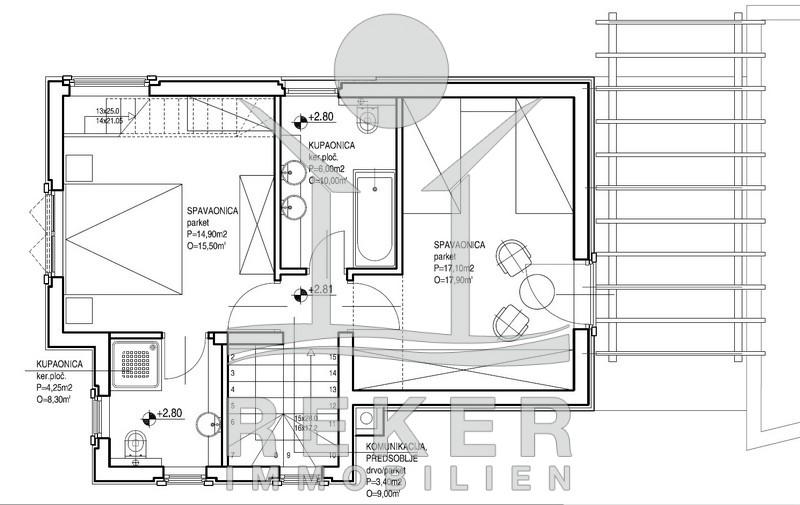 Sch ner neubau eines freistehenden einfamilienhauses for Raumaufteilung einfamilienhaus neubau